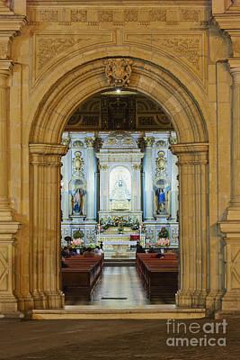 Sanctuary Of La Basílica De La Virgen De La Soledad Art Print by Jeremy Woodhouse