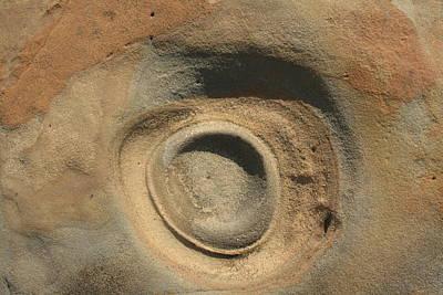 Sand And Rock Swirl Art Print