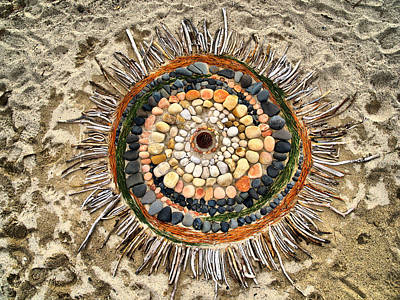 Sand Art Art Print
