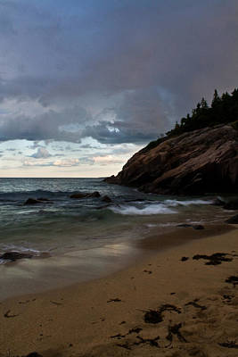 Photograph - Sand Beach After The Crowd by Greg DeBeck