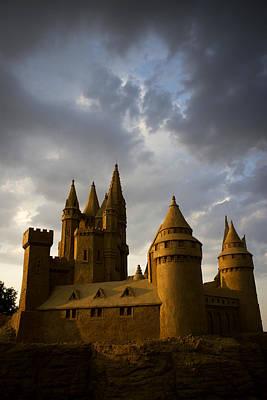 Photograph - Sand Castle by Radoslav Nedelchev
