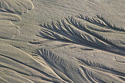 Nature Photograph - Sand Formations by Shane Bechler