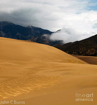 Sand In The Mountains Art Print