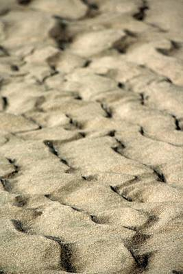 Photograph - Sand Ripples by Chris Anderson