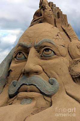 Sand Sculpture Art Print by Sophie Vigneault