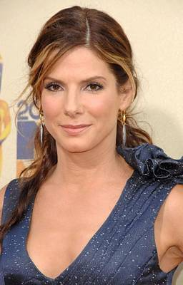 Sandra Bullock At Arrivals For 2009 Mtv Print by Everett
