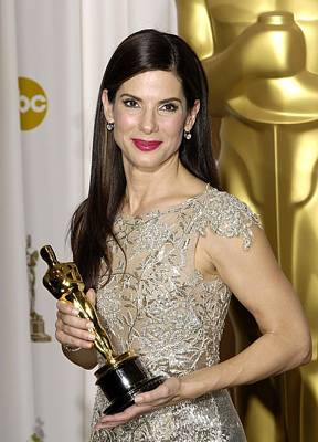 In The Press Room Photograph - Sandra Bullock, Best Performance By An by Everett