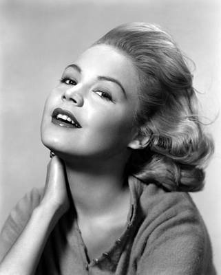 Publicity Shot Photograph - Sandra Dee, Age 15, 1957 by Everett