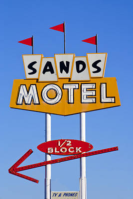 Sands Motel Art Print
