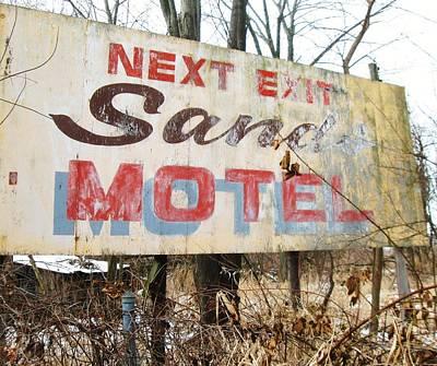 Sands Motel Art Print by Todd Sherlock