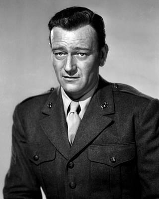 1949 Movies Photograph - Sands Of Iwo Jima, John Wayne, 1949 by Everett