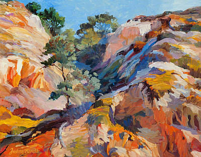 Sandstone Canyon Art Print
