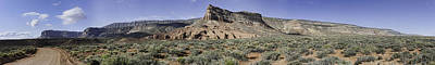 Art Print featuring the photograph Sandstone Cliffs Escalante National Monument by Gregory Scott