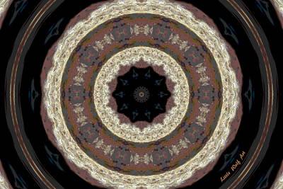 Sandstone Mandala Art Print