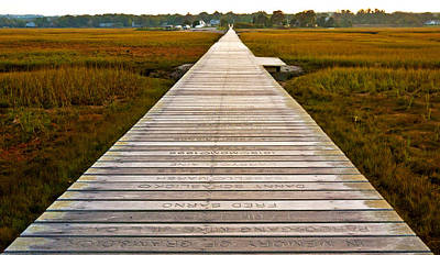 Sandwich Boardwalk Art Print