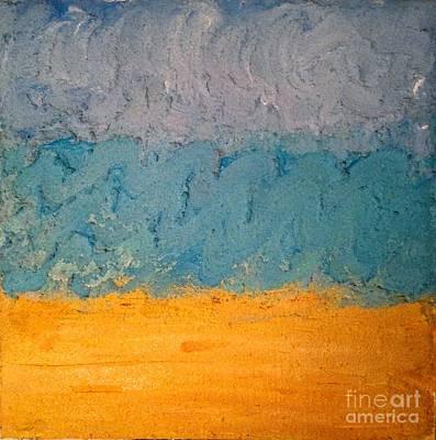 Painting - Sandy Beach by J Von Ryan