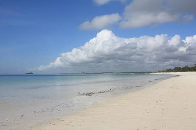 Mombasa Photograph - Sandy Beach, Watamu by Vladimir Nardin