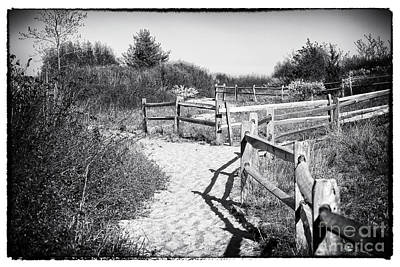 Photograph - Sandy Hook Maze by John Rizzuto