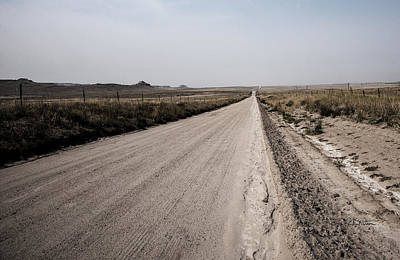 Photograph - Sandy Road by Edward Peterson