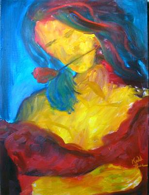 Painting - Sangria Dreams by Keith Thue