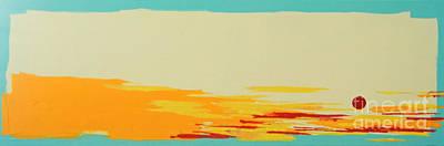 Sanibel Sunset 1 Original by Kristen Ashton