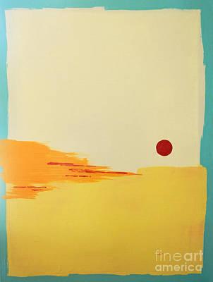 Sanibel Sunset 2 Original by Kristen Ashton