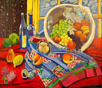 Painting - Sansom Street Still Life by Doris  Lane Grey