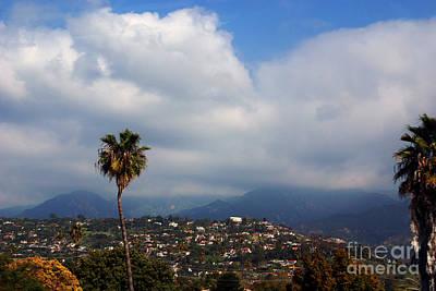 Santa Barbara Hills California Art Print