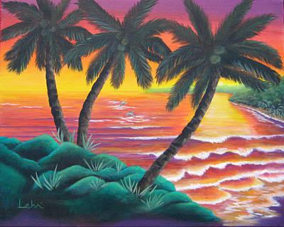 Santa Cruz Art Print by Diana Lehr