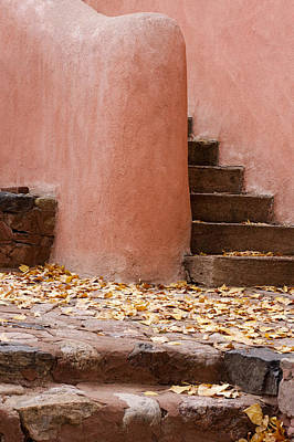 Santa Fe Adobe Art Print by Denice Breaux