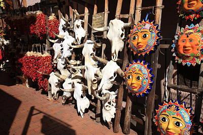 Photograph - Santa Fe Market by Frank Romeo