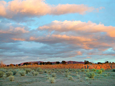 Photograph - Santa Fe Sunset Sky by Kathleen Grace
