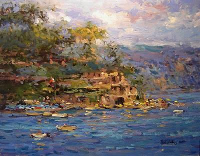 Margherita Painting - Santa Margherita by R W Goetting