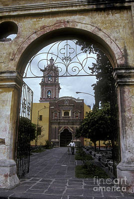Photograph - Santa Maria Church Tonantzintla Puebla by John  Mitchell