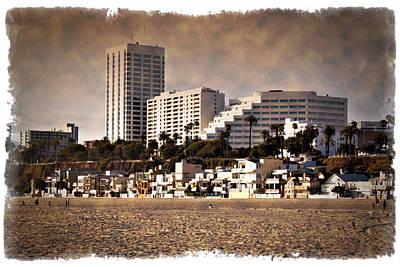 Photograph - Santa Monica - Impressions by Ricky Barnard