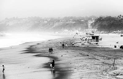 Photograph - Santa Monica Beach Vi by John Rizzuto