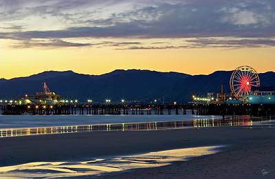 Photograph - Santa Monica Pier by Endre Balogh