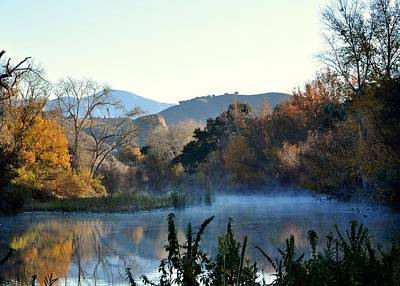 Photograph - Santa Ynez River by Matt MacMillan