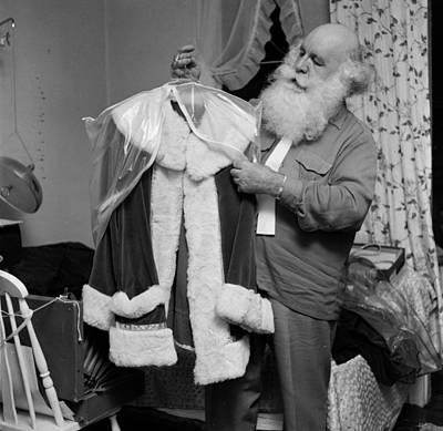 Santa's Suit Art Print by Efield