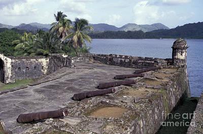 Photograph - Santiago Fort Portobelo Panama by John  Mitchell