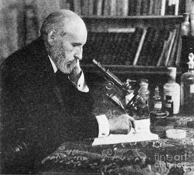 Santiago Ramon Y Cajal Photograph - Santiago Ram�n Y Cajal, Spanish by Science Source