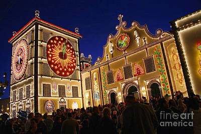 Santo Cristo Festivities Art Print by Gaspar Avila