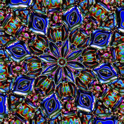 Sapphire Surprise Art Print by Alec Drake