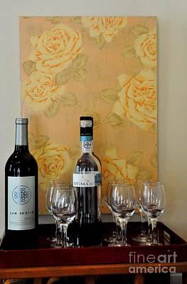 Photograph - Sara Beth's Wine Rack by John Black