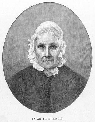 Sarah Bush Lincoln Art Print