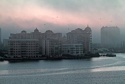 Florida Bridge Photograph - Sarasota Morning by Betsy Knapp