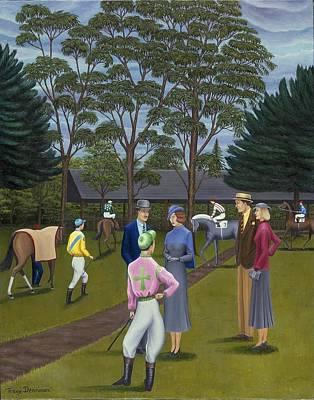 Saratoga Art Print