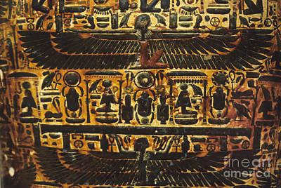 King Tut Photograph - Sarcophagus Exterior by Adam Crowley