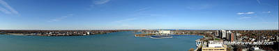 Mixed Media - Sarnia Bay Panorama by Bruce Ritchie