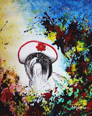 Painting - Sasha by Kume Bryant